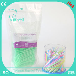Disposable Colorful Dental Air Water Syringe Tip pictures & photos