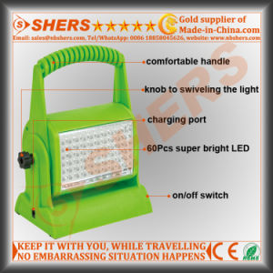 Rechargeable Cordless 60 LED Hobby Light pictures & photos