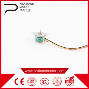 Mechanical Best Design Probond Pm DC Small HP Stepper Motor pictures & photos
