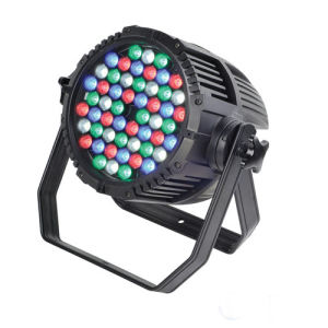 54X3w RGBW Waterproof Outdoor LED PAR Stage Light with DMX512 for Stage, Event, Show and Architecture pictures & photos