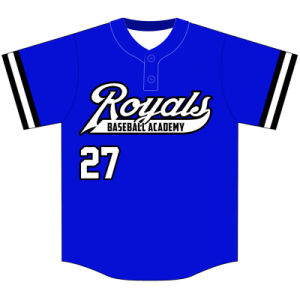 Custom Youth Dye Sublimation Baseball Uniform for Teams pictures & photos