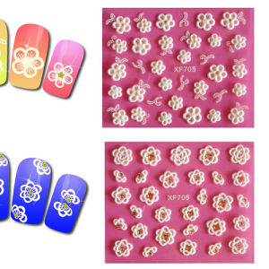 Pirvate Label 3D Nail Sticker More Design Avaiable pictures & photos