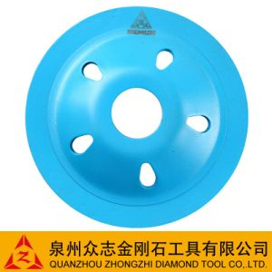 Brazed Segmened Turbo Grinding Cup Wheel