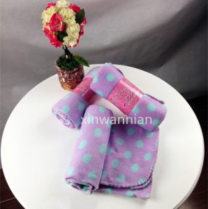 High Quality 100% Polyester Polar Fleece Blanket (XSM-SM013)