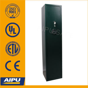 Gunsafes / 5 Gun Storage Cabinet / 1400 X 320 X 320 (mm) /Double Bitted Key Lock pictures & photos