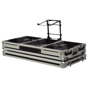 Flight Case (DJ coffin case with laptop stand)