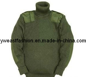 Military Sweater/ Autumn Fashion Sweater/ Outoor Sweater