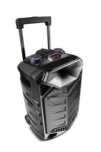 Powerful 15 Inch Waterproof Guitar Karaoke Mobile Trolley Speaker pictures & photos