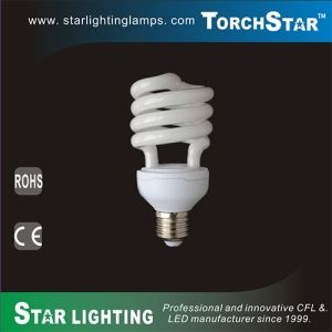 18W 20W 23W 27W 30W T3 Half Spiral Compact Flourescent Lamp pictures & photos