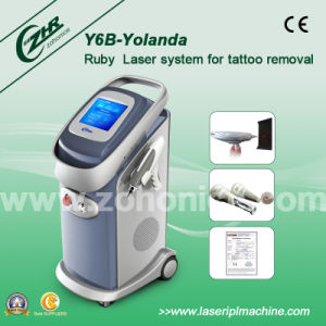 Y6b-Yolanda Q Switched ND YAG Laser Eyebrow Purifying Beauty Machine pictures & photos