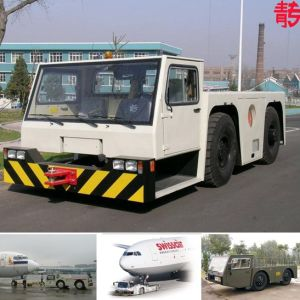 Sinotruk Aircraft Towing Tractor for Air Bus and Boeing (QDZ5180TQY) pictures & photos