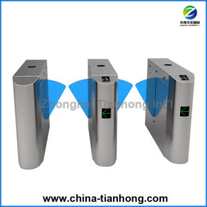 Optical Indsutrial Factory Half Height Flap Barrier Turnstile pictures & photos
