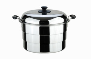 Kitchen Cookware Three Layers Stainless Steel Steam Pot (LFC2222) pictures & photos