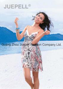 Women Woven Leopard Print Slip Tops pictures & photos