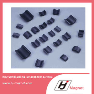High Quality Customized Arc Ferrite Magnet for Motors pictures & photos