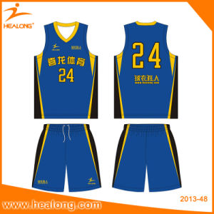 Healong Best Design Sublimation Basketball Jerseys pictures & photos