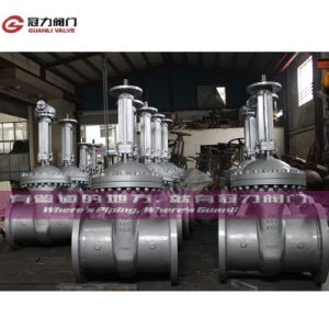 Wcb Flange or Weld Connection Gate Valve pictures & photos
