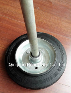 Steel Dustbin Wheel pictures & photos