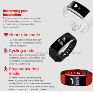 IP67 Waterproof Fitness Tracker S2 Bluetooth Smart Bracelet pictures & photos