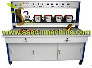 Bench for The Study of Electrical Machines Electrician Skills Training Educational Equipment