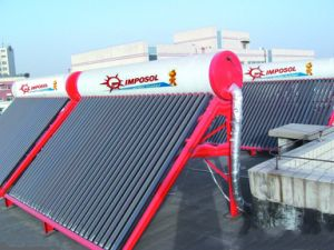 Quality-Assured Unpressurized China Manufacture Solar Hot Water Heater pictures & photos