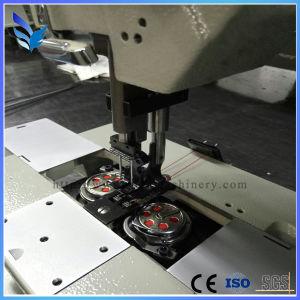 Single Needle Unison Feed Lockstitch Sewing Machine pictures & photos