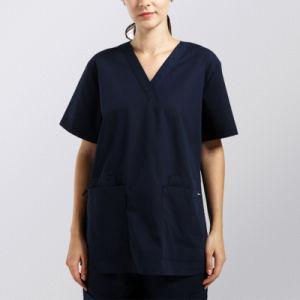 Fashion Design Medical Uniform Unisex Scrub Set Top & Pant pictures & photos
