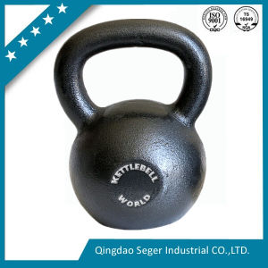Fitness Black Painted/Power Coating Cast Iron Kettlebell pictures & photos