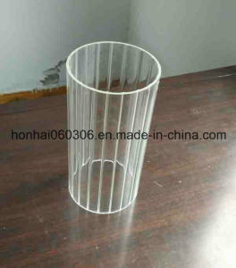 Heat Resistant Transparent Borosilicate Glass Lamp Chimney pictures & photos