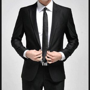 1button Slim Fit Men′s Fashion Business Suit pictures & photos