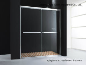 Office/Bank/Hotel Sliding Door Tempered Glass with Ce and SGCC pictures & photos