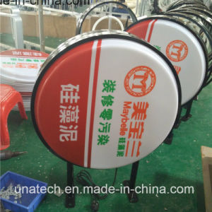 Double Sided Plastic Vacuum Display LED Light Box Signage pictures & photos