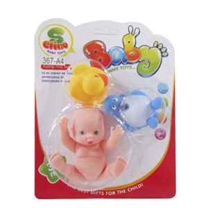 Lovely Mini Vinyl Baby Dolls Shower Toys F or Baby Toy (10207414) pictures & photos