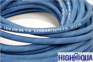 Blue Color R1at 1sn Hydraulic Hose pictures & photos