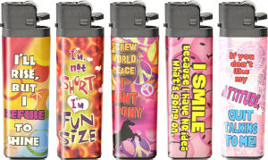 Flint Lighter Cpsc (DY-F01 SLEEVE)