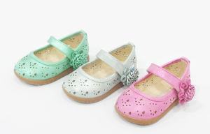 High Quality Baby Girl Shoes Princess Shoes for 1-3 Year Old (20140517-19)