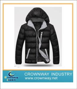 Fashion Design Men Waterproof Warm Down Jacket pictures & photos