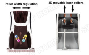 Neck and Back Shiatsu Vibration Butt Massage Cushion for Chair pictures & photos