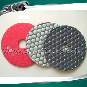 Good Diamond Polish Pads for Stone Processing (SG-089) pictures & photos