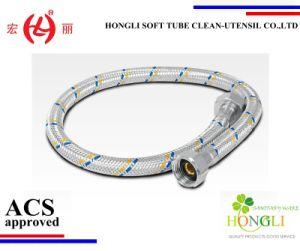 Hl2621 Aluminium Braided Flexible Hose for Wash Basin pictures & photos
