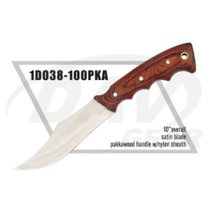 "10"" Overall Pakkawood Handle Dagger with Satin Blade: 1do38-100pka pictures & photos"