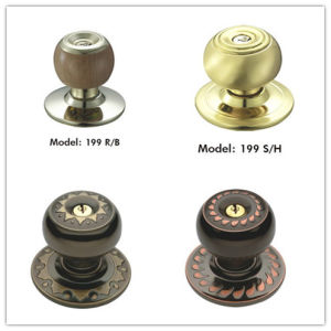 Knob Lock Handle Iron Door Handle pictures & photos