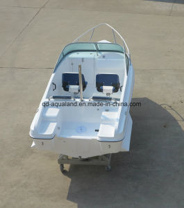 China Aqualand 15feet 4.6m Sports Motor Boat/Bowrider Speed Boat/Fiberglass Fishing Boat (150br) pictures & photos
