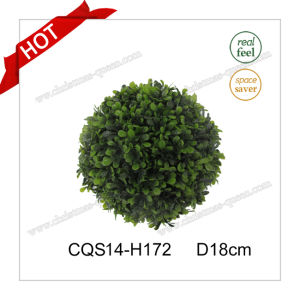 D18cm Plastic Customized Artificial Christmas Ball Glass Craft pictures & photos