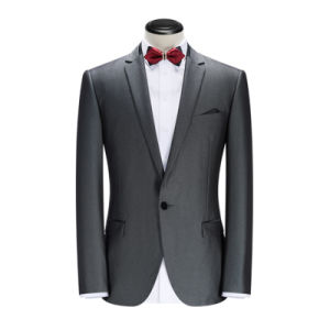 Bespoke Men Slim Fit Wedding Suit, Groom Tuxedos for Wedding pictures & photos