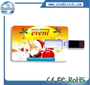 Card USB Flash Drive Christmas Gift USB pictures & photos
