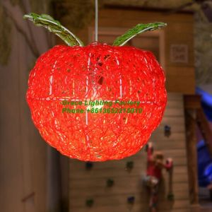 Rattan Lamp Red Apple Pendant Lamp (GD-1045-1) pictures & photos