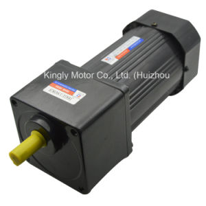 6W~180W 42mm~104mm 110V 220V AC Electric Induction Gear Motor pictures & photos