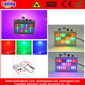 Lpsd12W-RGB 12PCS*1W RGB LED Strobe Light Plastic Housing pictures & photos