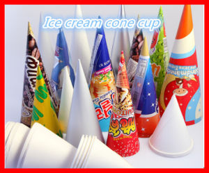 Manufacturer of Ice Cream Paper Cone Sleeve Forming Machine (CW-220) pictures & photos